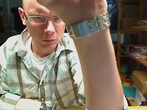 Opening Casio wrist watch lock using Otto Bock MovoHook 2Grip