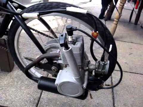 Motovelo Moto Morini Diy Folding Bike With 2 Stroke