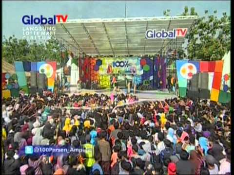 Zaskia Live At 100% Ampuh (26-07-2012) Courtesy Global Tv video