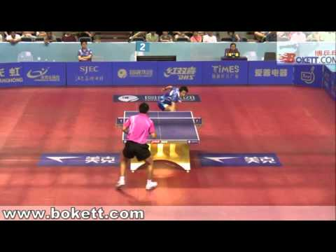 Joo Se Hyuk vs Tang Peng[Harmony China Open 2010]