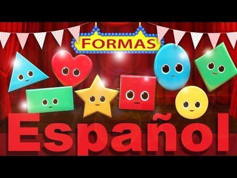 La canción de las formas | Canciones infantiles | LittleBabyBum