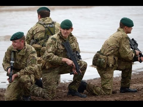 British Royal Marine Commandos Training - NATO vs Russia in Biggest Military Exercise