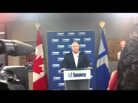 Doug Ford Addresses Allegations His Brother Smokes Crack Cocaine