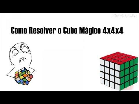 Como Resolver o Cubo Mágico 4x4x4