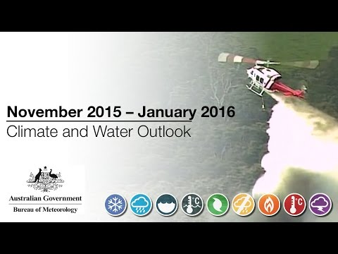 Climate and Water Outlook, November 2015 — January 2016