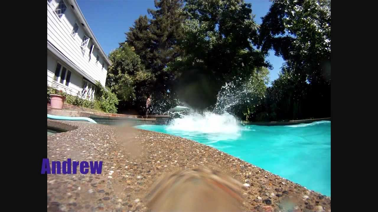 Epic pool tricks fails youtube for Epic pool show