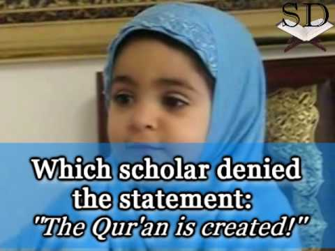 2 Year Old Girl Answering Questions About Islam! [Must See!]