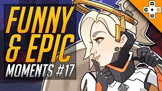 Overwatch FUNNY & EPIC Moments #17 - Highlights Montage