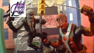 Deadpool Stop Motion - Deadpool vs Hit Monkey