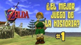 Zelda Ocarina of Time: ¿El Mejor Juego de la Historia? [Parte 01] - Pepe el Mago