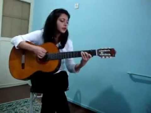 صدای زیبای دختر ایرانی - آهنگ منو ببخش مرجان Иранска балада