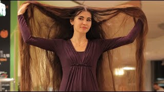 Real-Life Rapunzel Has 90 Inch Long Hair