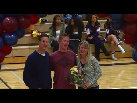 Horizon Christian Academy    Senior night   Basketball teams   Cheer   Pep Band - 07/30/2014