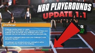 NEW SHOT METER AND PLAY WITH FRIENDS OPTION ONLINE! NBA Playgrounds Update 1.1 Gameplay Ep. 9