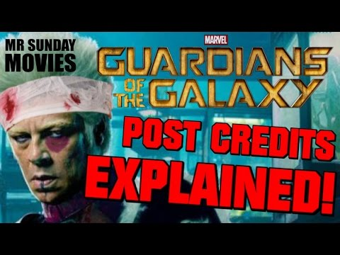 GUARDIANS OF THE GALAXY Post Credits Scene Reveal (Spoilers)