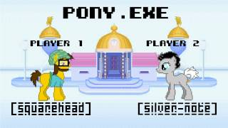 SquareHead Ft. Silver Note - Pony.EXE