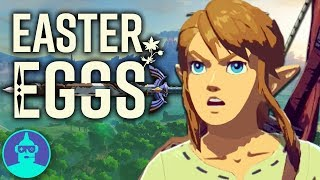 The Legend of Zelda: Breath Of The Wild Easter Eggs YOU Missed - Easter Eggs #9 | The Leaderboard