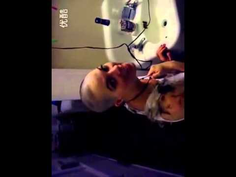 Drunk Girl Head Shave video