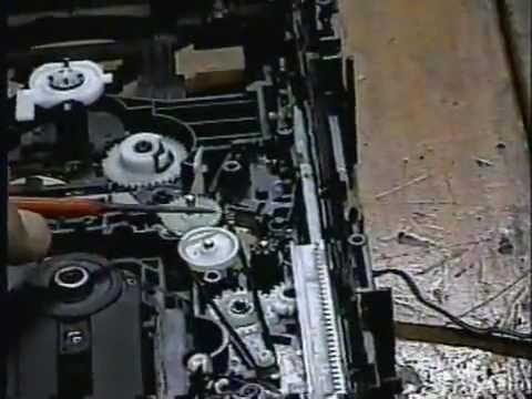 Som Panasonic de 5 CDs: Como consertar e colocar a mecânica no ponto.
