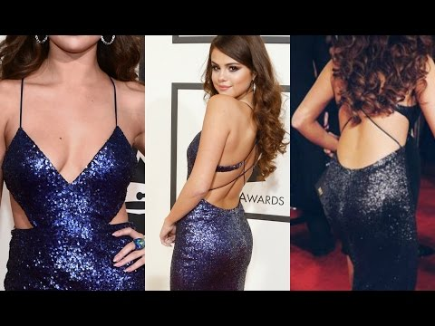 Grammy Awards 2016 | Selena Gomez Hot Cleavage And Black Show thumbnail