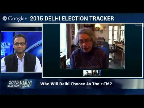 On #IndiaHangOut 2015 Delhi Election Tracker In Association With C Voter Streamed live on Jan 30, 20