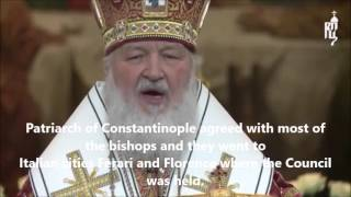 Moscow Orthodox Patriarch Criticizes Union With Rome