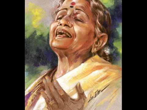 Ms Subbulakshmi :janani Ninnu Vina video
