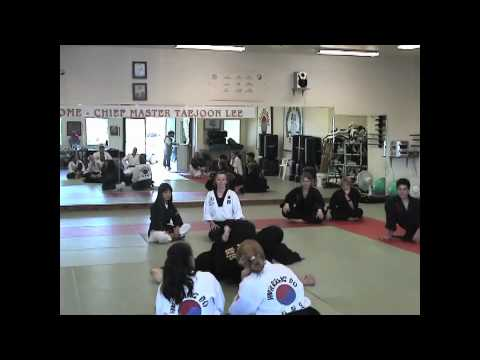 Grandmaster Taejoon Lee's Hwa Rang Do Seminar in Arcata, CA 2004 Image 1