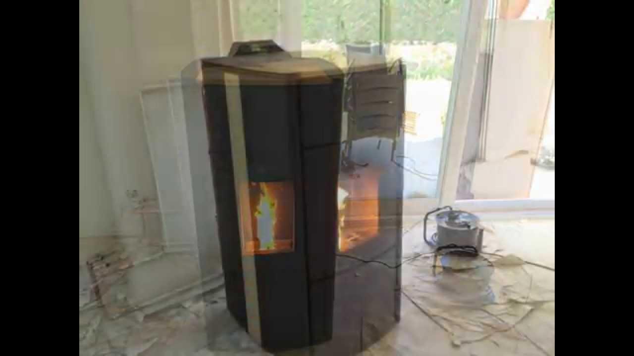 C mo instalar una termo estufa de pellets bronpi 91 - Instalar estufa pellets piso ...
