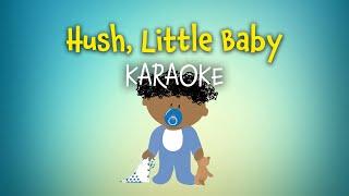 Hush, Little Baby (instrumental with lyrics - karaoke video)
