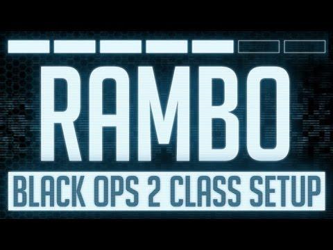 Rambo : Black Ops 2 Mk 48 Class Setup