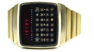 RetroTech: Hewlett Packard HP-01  1977's Smartest Watch