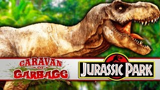 Hunting The T-Rex From Jurassic World Or Park - Caravan Of Garbage