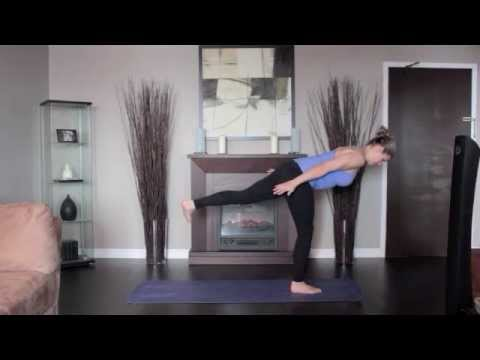 Yoga Warrior 3 Pose Left And Right