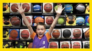 NEW BASKETBALL SHOPPING (Day 1477) | Clintus.tv