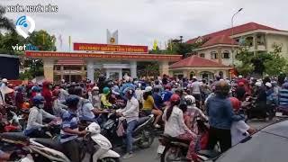 Tiền Giang: Hàng ngàn người dân biểu tình phản đối Luật Đặc khu