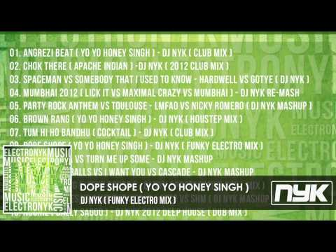 Dope Shope - Yo Yo Honey Singh ( Dj Nyk Funky Electro Mix ) video