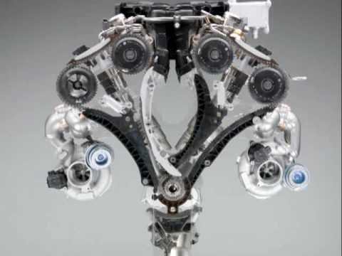 New Bmw 760li V12 Engine 2009 Youtube
