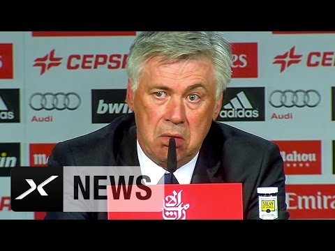 Carlo Ancelotti: Schwer ohne Gareth Bale und Luka Modric | Real Madrid - FC Malaga 3:1