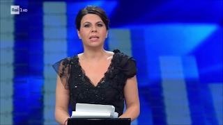Sanremo 2017 - Geppi Cucciari - 'Bugie, verità e voglia di fare domande'