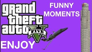 GTA 5 Online Funny Moments-(Osama Bin Bombin, BJ, Tag Mini game)