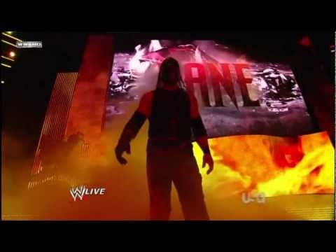 Kane New Entrance 2012 video