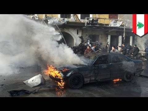 Lebanon car bomb: 4 killed, 30 injured