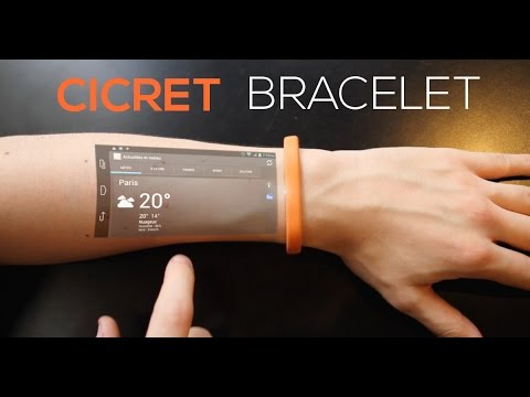 This Smartwatch concept will blow your mind! (Cicret Bracelet)