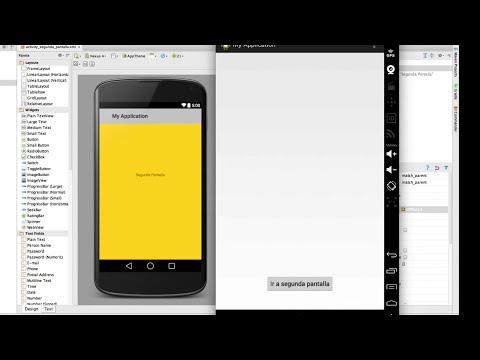 Navegación entre pantallas con Android Studio