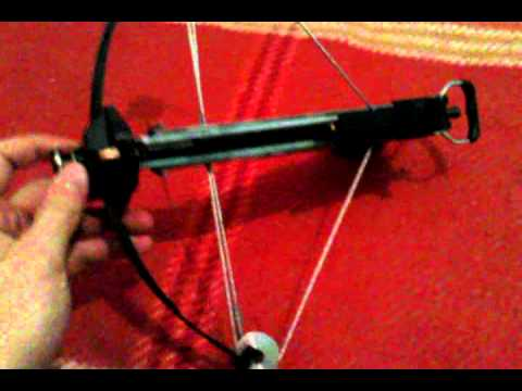 Pistol Crossbow shooting 6mm steel pellets