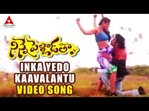 Inka Yedo Kaavalantu Romantic Video Song || Ninne Palladatha Movie || Nagarjuna,tabu video