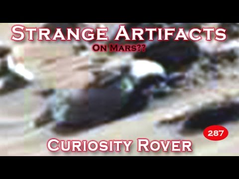 Strange Artifacts Found In NASA's Curiosity Rover SOL 747 Image Download