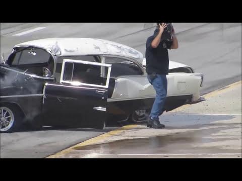 55 Chevy Rollover - *SLO-MO*