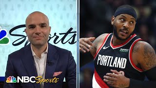 NBA Weekly Roundup: Carmelo signs with Blazers, Luka Doncic's success | 11/20/19 | NBC Sports